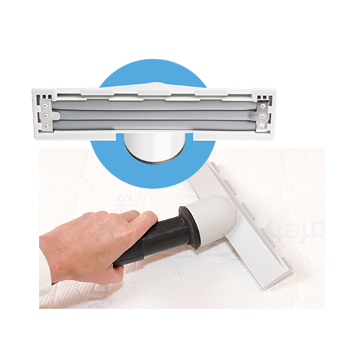 Accesorio para aspiradora patentado Vibra-Tool.