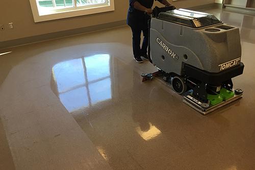 Ferma Sistema de Limpieza -Carbon Floor Scrubber.