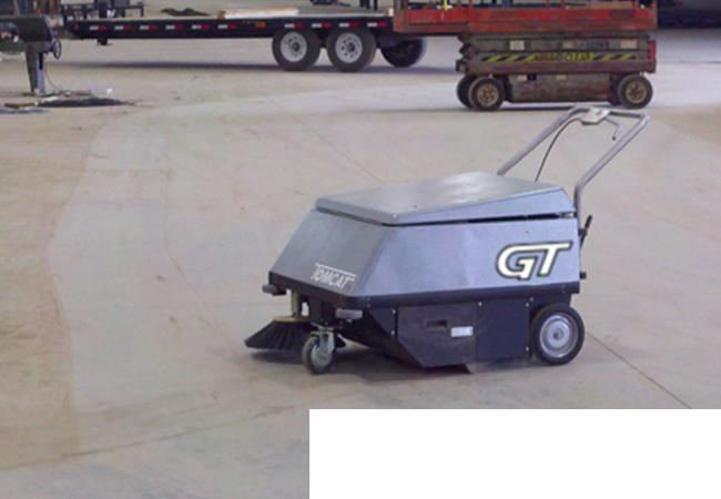 Ferma Sistema de Limpieza -Barredora GT Sweeper.